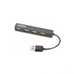 EDNET HUB 4-port USB2.0 ''Mini'', pasyvus