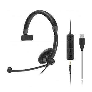 SENNHEISER Culture Plus SC 45  3,5mm/USB MS vienos ausies ausinė